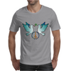 Peace and Love Mens T-Shirt