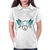 Peace and Love Womens Polo