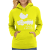 Peace And Music Guitar Hippie Womens Hoodie