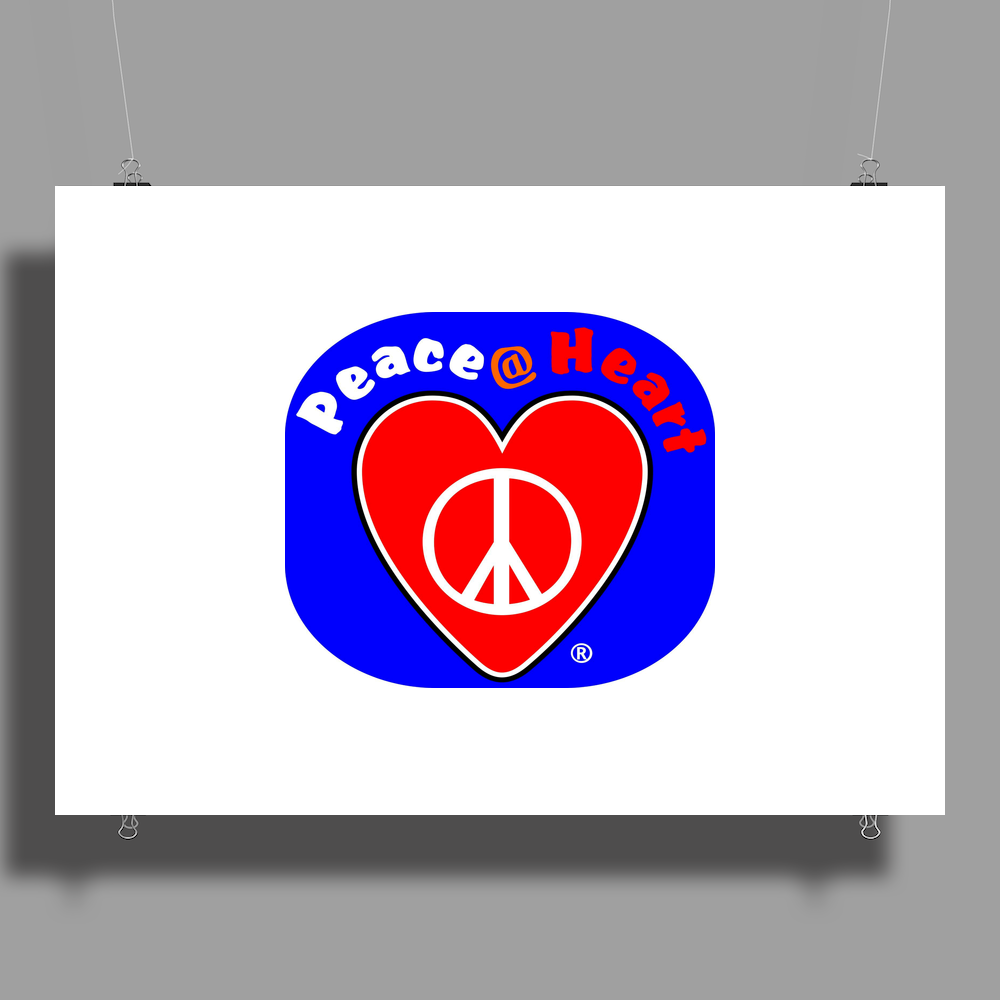 Peace at Heart Poster Print (Landscape)