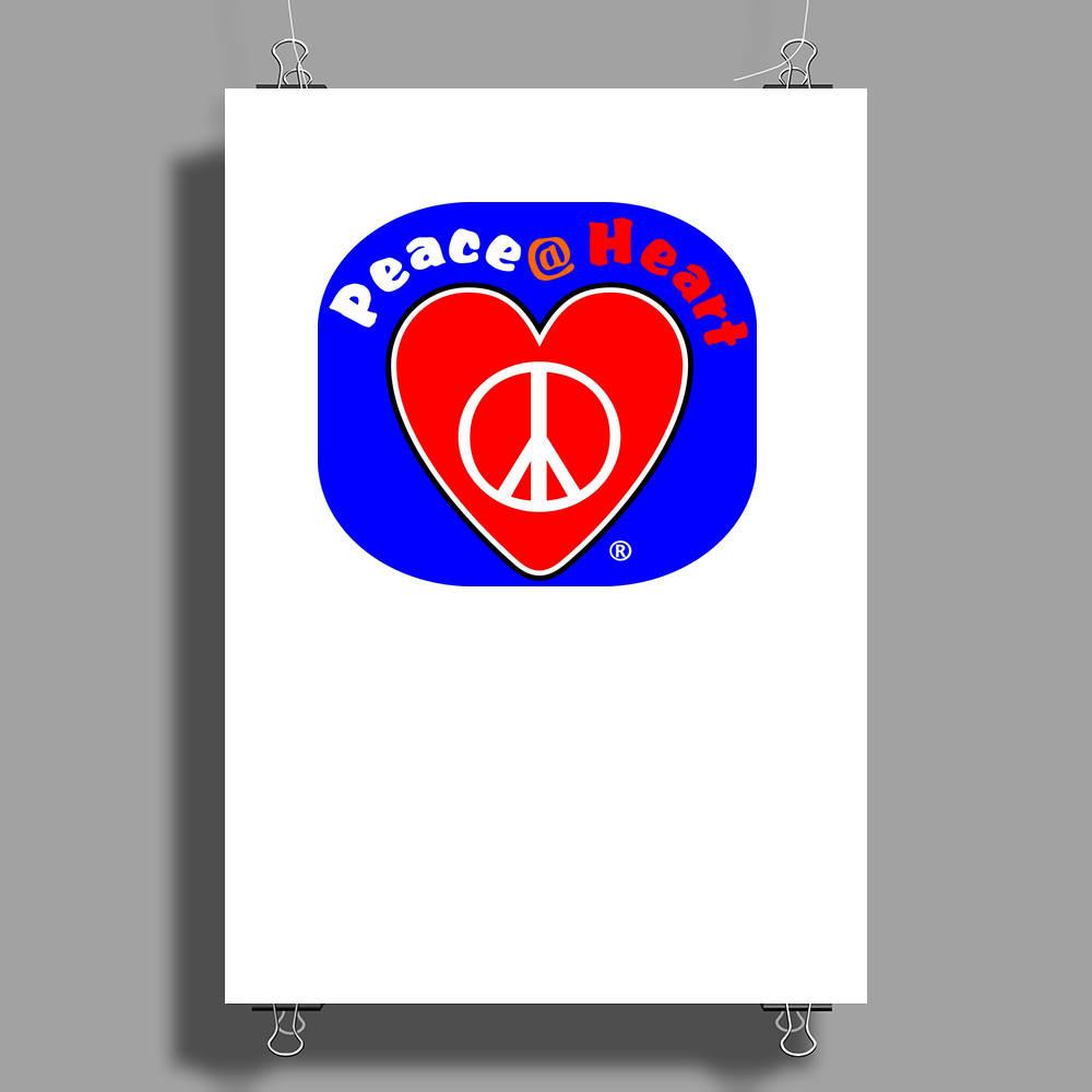 Peace at Heart Poster Print (Portrait)