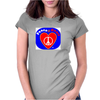 Peace at Heart Womens Fitted T-Shirt