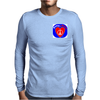 Peace @ Heart Mens Long Sleeve T-Shirt