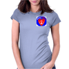 Peace @ Heart Womens Fitted T-Shirt