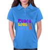 Peace Love and Cats Womens Polo