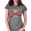 Peace mission Womens Fitted T-Shirt