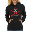 Peace mission Womens Hoodie