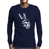 Peace Out Mens Long Sleeve T-Shirt