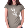 Peace Out Womens Fitted T-Shirt