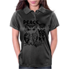 Peace Owl Womens Polo