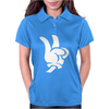 Peace Sign Womens Polo