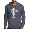Peaceful Alien Mens Hoodie