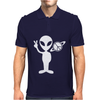 Peaceful Alien Mens Polo