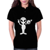 Peaceful Alien Womens Polo