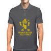 Peanut Butter Jelly Time Banana Mens Polo