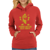 Peanut Butter Jelly Time Banana Womens Hoodie
