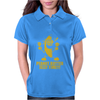 Peanut Butter Jelly Time Banana Womens Polo