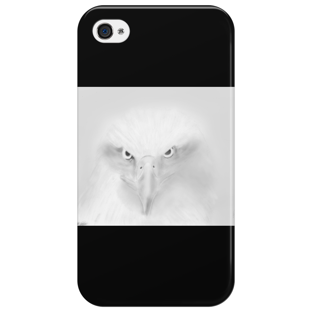 Pencil eagle Phone Case