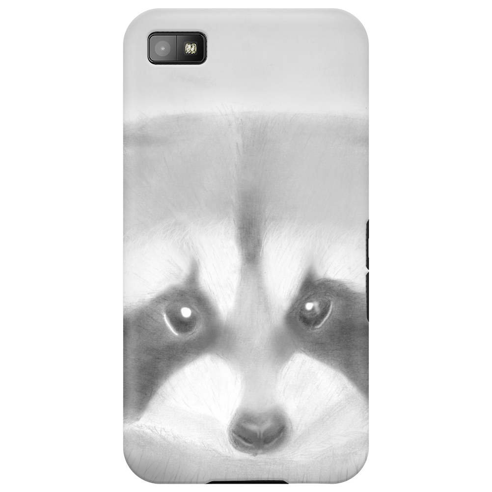 Pencil raccoon Phone Case