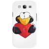Penguin - Pinguin mit Herz (Comic) Phone Case