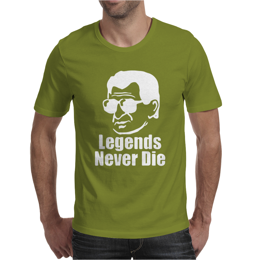 Penn State Joe Paterno Legends Never Die Mens T-Shirt
