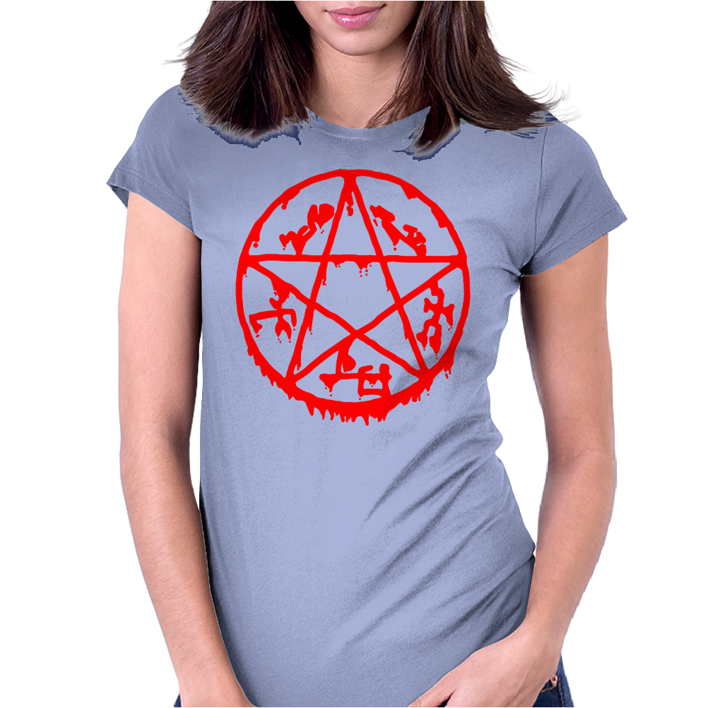 Pentacle Womens Fitted T-Shirt