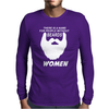 People without Beard Mens Long Sleeve T-Shirt