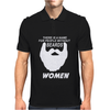 People without Beard Mens Polo
