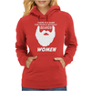 People without Beard Womens Hoodie