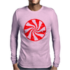 Peppermint Candy Mens Long Sleeve T-Shirt