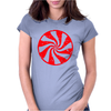 Peppermint Candy Womens Fitted T-Shirt