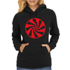 Peppermint Candy Womens Hoodie