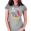 Peralta burster Womens Fitted T-Shirt