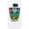Perfect football fan Phone Case