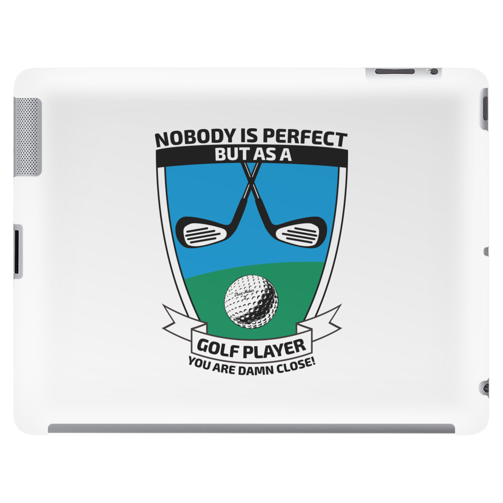 Perfect golf player Tablet
