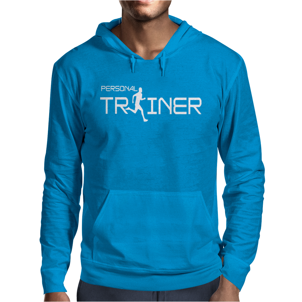 Personal Trainer Fitness Mens Hoodie