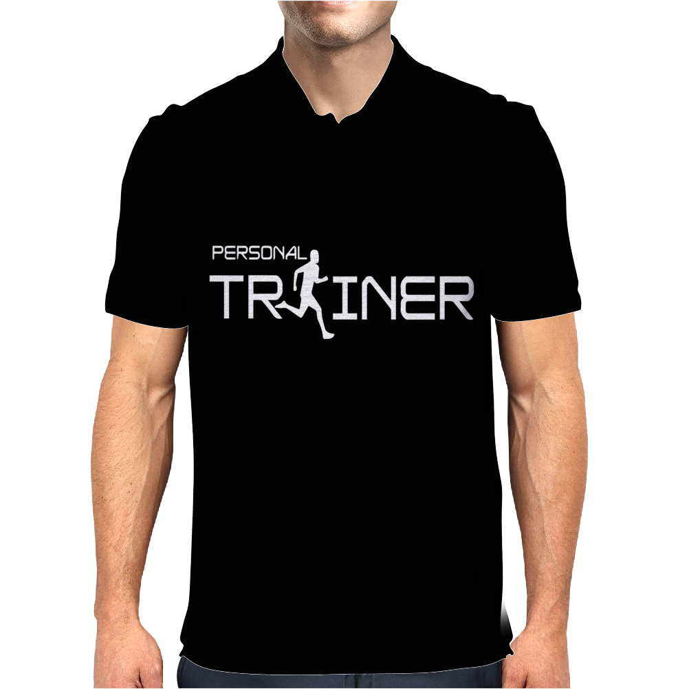 Personal Trainer Fitness Mens Polo