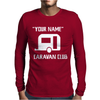PERSONALISED your name CARAVAN CLUB FUNNY GIFT Mens Long Sleeve T-Shirt
