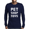Pet Shop Boy new Mens Long Sleeve T-Shirt