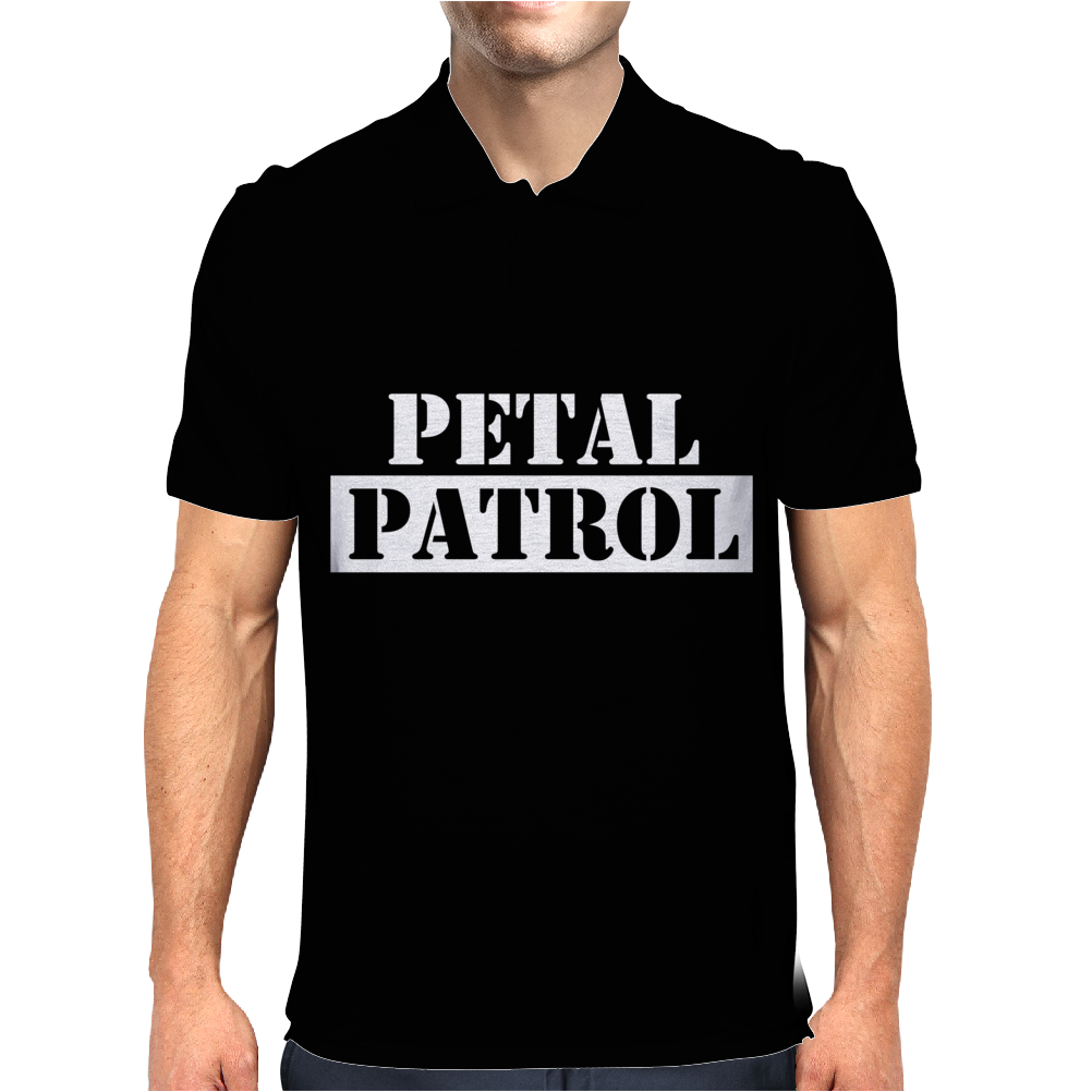 Petal Patrol Mens Polo