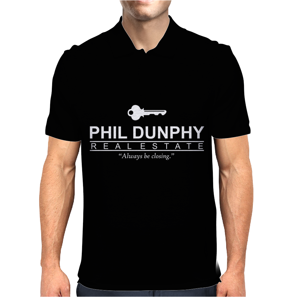 Phil Dunphy Real Estate Mens Polo