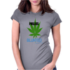 Phillies Blunted Womens Fitted T-Shirt