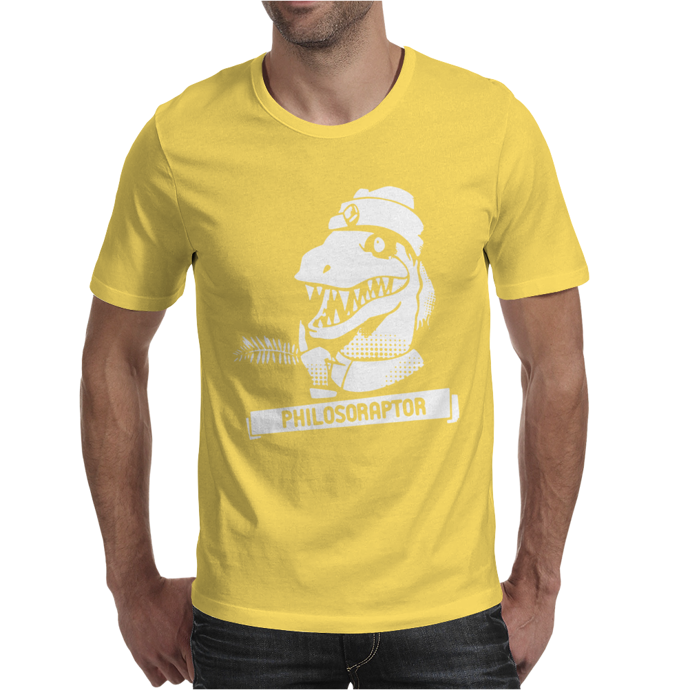 Philosoraptor Mens T-Shirt