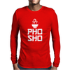 Pho Sho Foodie Asian Food Humor Chopsticks Funny Mens Long Sleeve T-Shirt