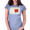 PHONECALL Womens Fitted T-Shirt