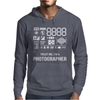 Photographer Camera. Mens Hoodie