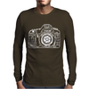 Photographer Camera Mens Long Sleeve T-Shirt