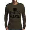 Photos Please Mens Long Sleeve T-Shirt