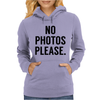 Photos Please Womens Hoodie