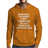 Photosynthesis Funny Mens Hoodie